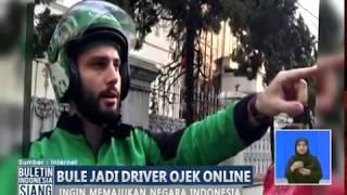 Video WOW! Bule Bangga Menjadi Driver Ojek Online - BIS 22/09 MP3, 3GP, MP4, WEBM, AVI, FLV Februari 2018