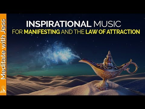 Inspirational Music For Creative Visualization, Manifestation, Goal Setting, Law of Attraction