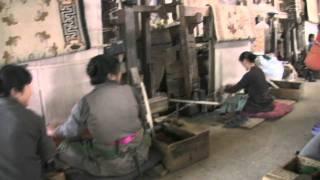 Tibetan Carpet Weaving