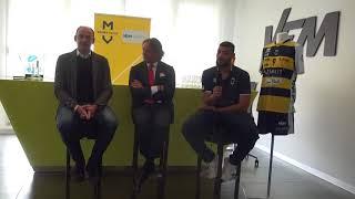 Modena Volley: la presentazione della partnership con VEM Sistemi SpA