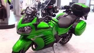 10. 2018 Kawasaki Concours 14 ABS Special Series Lookaround Le Moto Around The World