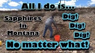 Helena (MT) United States  City new picture : Mining America Ep11 Spokane Bar Sapphire Mine 6/26/16 Helena Montana