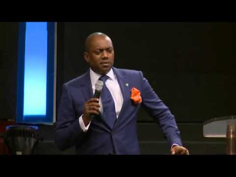 Fela Durotoye speaking at Daystar's Excellence in Leadership Conference 2013