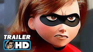 Video INCREDIBLES 2 Official Teaser Trailer (2018) Pixar Animated Superhero Movie HD MP3, 3GP, MP4, WEBM, AVI, FLV November 2017