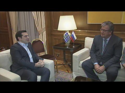Συνάντηση του πρωθυπουργού Αλέξη Τσίπρα με Σεργκέι Πριχόντκο
