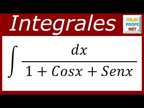 Solución de una integraler que contiene seno y coseno en el denominador