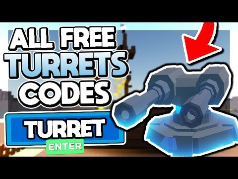 🚢 ALL NEW *OP* FREE TURRETS CODES in YAR! ❗UPDATE 2 TURRETS❗ Yar (Roblox)