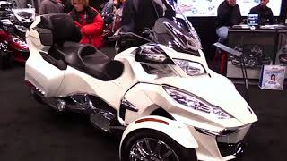 10. 2018 Can am Spyder RT Special Series Lookaround Le Moto Around The World
