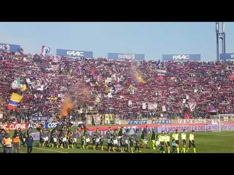 Sciarpata ultras BOLOGNA - Inter