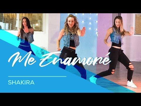 Me Enamoré - Shakira - Easy Fitness Dance Choreography - Baile - Coreografia видео