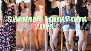 SUMMER LOOKBOOK 2014 (GIRLY,FLORAL,FLIRTY) - YouTube
