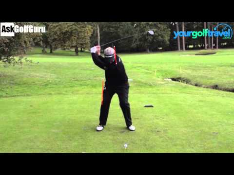 Darren Clarke Golf Swing Hi Speed