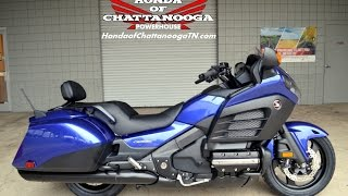 9. 2015 F6B Deluxe Gold Wing For Sale / Chattanooga TN GA AL : Honda of Chattanooga GL1800BDF