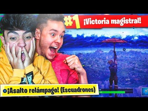 MI MEJOR PARTIDA EN EL NUEVO MODO de JUEGO de FORTNITE: Battle Royale!! - Agustin51