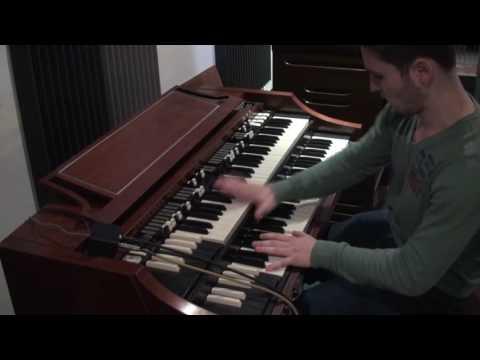 Hammond A100 (B3/C3) Sick Beast Jon Lord Overdrive Sound