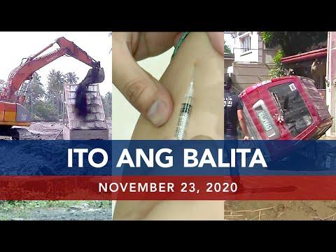 UNTV: Ito Ang Balita | November 23, 2020