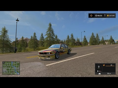 FS17 BMW E24 M635 CSi v1.0