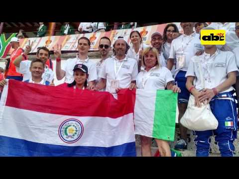 Tatiana gano el oro en el mundial de trasplantados
