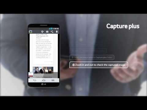 """LG G2 - prezentacja funkcji """"Capture"""""""