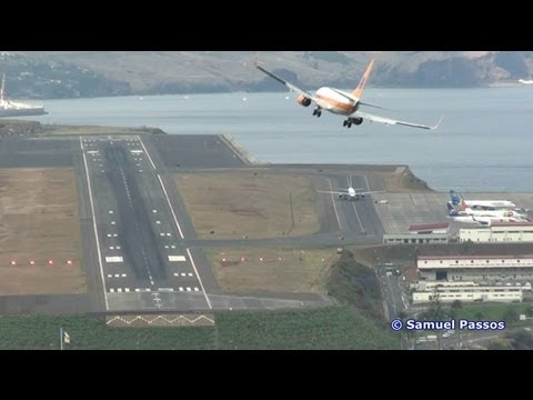 Amazing Appropachs || Crosswind Landings || Madeira
