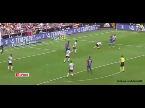 Valencia vs Barcelona 2-3 All Goals HD ~ La Liga 22/10/16