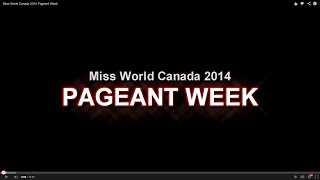 Pageant Week has so much fun!!!