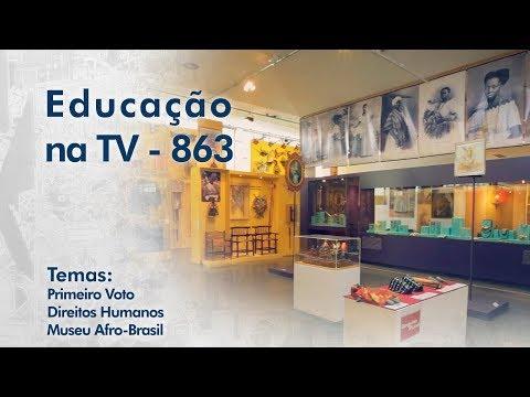 Primeiro Voto / Direitos Humanos /  Museu Afro-Brasil