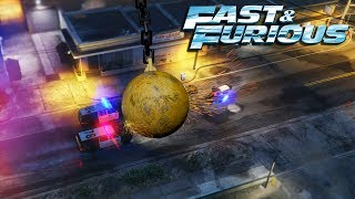 Nonton GTA V - Fast & Furious 8 WRECKING BALL Scene Film Subtitle Indonesia Streaming Movie Download