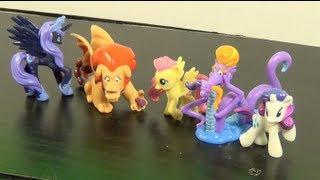 My Little Pony ELEMENTS OF HARMONY FRIENDS Mini Figures Set (2013) Review! by Bin's Toy Bin