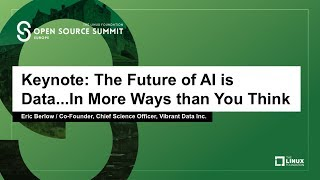 Keynote: The Future of AI is Data...In More Ways than You Think - Eric Berlow