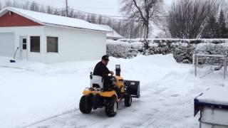 5. Tractor Cub Cadet Enduro XT1 with snowblower 42