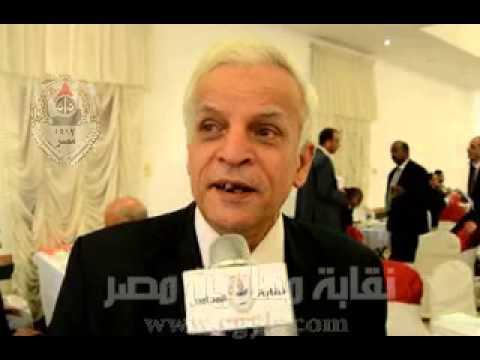 نقيب اسكندرية: لقاءات دورية مع رؤساء المحاكم لحجب النزاع