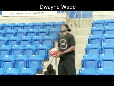 Vince Wade - D-Wade with 2 amazing circus shots and Vince Carter with the sitting down World Record Check out my friends channel ronny123ism2 http://www.youtube.com/user/...