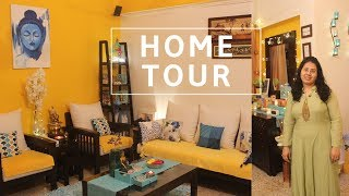 My Organized Indian House Tour | Indian house tour and decoration | Apartment Tour