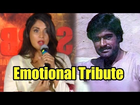 Richa Chadha Gets Emotional Paying Tribute To Sara