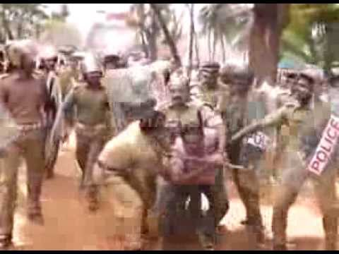 Poilce brutality in vadakara