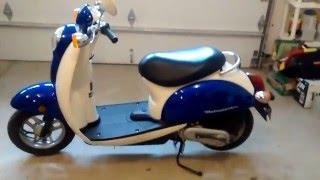 9. 2007 Honda Metropolitan CHF50 Scooter - Part Out