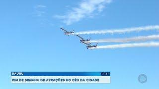 Atrações do Arraiá Aéreo levam milhares de pessoas ao Aeroclube de Bauru