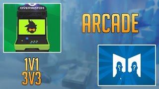 Das neue Update im PTR ist raus und neben Sombra gibt es nun auch den Arcade Mode mit Watchpoint Antarctica als neue Map...