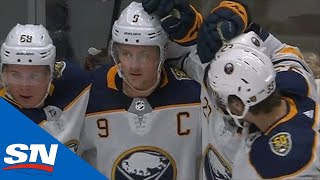 Jack Eichel Goes End-To-End To Score After Stealing Puck From Ducks by Sportsnet Canada