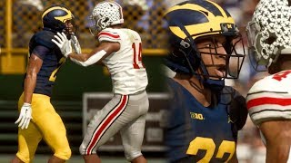 NCAA FOOTBALL 19 GAMEPLAY! Ohio State vs Michigan (Full Game Highlights)