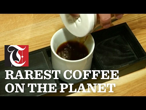 NYC cafe serves up $18 cup of coffee