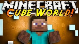 Minecraft Mod Showcase : CUBE WORLD!