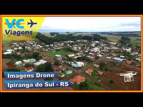 Imagens aéreas da cidade de Ipiranga do Sul - RS