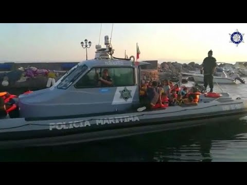 Διάσωση 47 μεταναστών στη Λέσβο