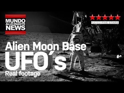 UFOs Alien Moon base evidence – Leaked UFO´s Video – Latest UFO Sightings