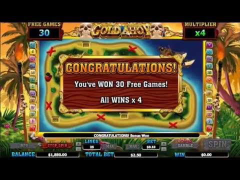 GOLD AHOY - SlotsCocktail  - free slot machines