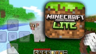 so i installed Minecraft LITE in 2019..