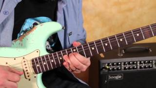 Jerry Garcia Inspired Guitar Soloing Lesson - Major Scale - Major Pentatonic - Country Blues