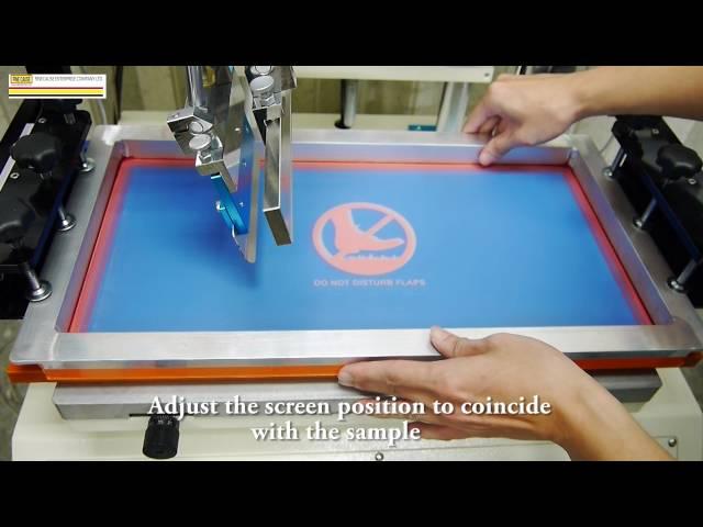 FA-400/500/600TSN 伺服马达网版印刷机 教学影片
